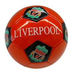 LIVERPOOL / PREMIER LEAGUE , ENGLAND / RED SOCCER BALL SIZE 5 .. NEW AND IN A PACKAGE
