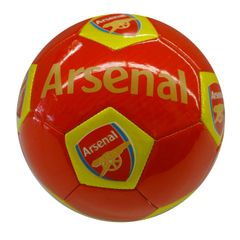 ARSENAL / PREMIER LEAGUE , ENGLAND / RED SOCCER BALL SIZE 5 .. NEW AND IN A PACKAGE