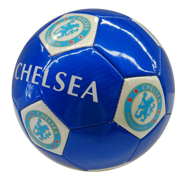 CHELSEA / PREMIER LEAGUE , ENGLAND / BLUE SOCCER BALL SIZE 5 .. NEW AND IN A PACKAGE