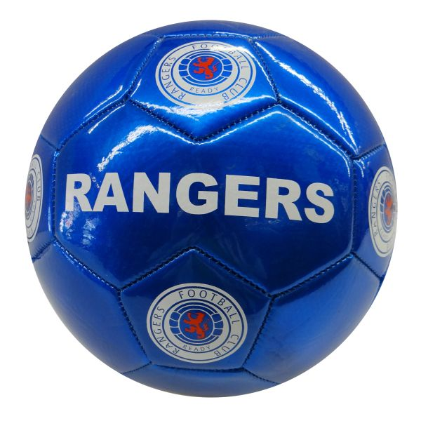 RANGERS F.C. BLUE / SCOTTISH PREMIERSHIP , SCOTLAND / SOCCER BALL SIZE 5.. NEW AND IN A PACKAGE
