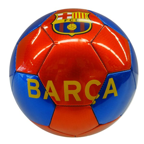 BARCA BARCELONA F.C. / PREMIERA LIGA , SPAIN / RED BLUE SOCCER BALL SIZE 5.. NEW AND IN A PACKAGE