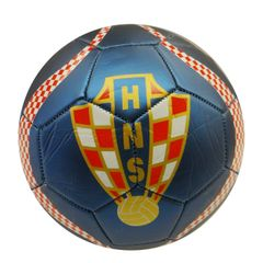 CROATIA BLUE HNS LOGO FIFA WORLD CUP SOCCER BALL SIZE 5 .. NEW AND IN A PACKAGE