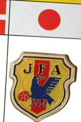 JAPAN FIFA WORLD CUP SOCCER LAPEL PIN BADGE .. NEW AND IN A PACKAGE