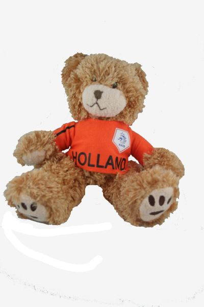 "HOLLAND NETHERLANDS FIFA SOCCER WORLD CUP SMALL 10"" INCHES JERSEY BEAR .. GREAT QUALITY .. NEW AND IN A PACKAGE"