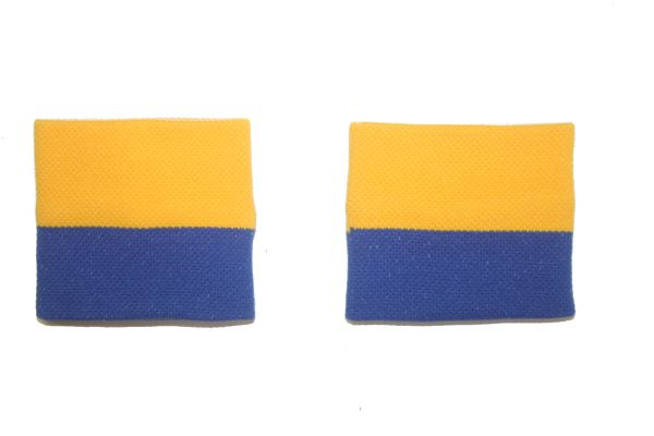 UKRAINE COUNTRY FLAG WRISTBAND SWEATBAND .. HIGH QUALITY .. NEW AND IN A PACKAGE