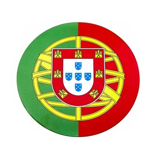 PORTUGAL COUNTRY FLAG FIFA SOCCER WORLD CUP CAR MAGNET .. HIGH QUALITY .. NEW AND IN A PACKAGE