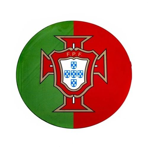 PORTUGAL FPF LOGO FIFA SOCCER WORLD CUP CAR MAGNET .. HIGH QUALITY .. NEW AND IN A PACKAGE