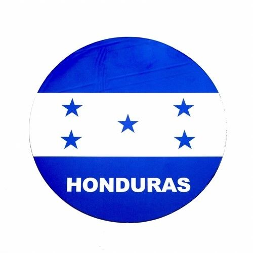 HONDURAS COUNTRY FLAG FIFA SOCCER WORLD CUP CAR MAGNET .. HIGH QUALITY .. NEW AND IN A PACKAGE