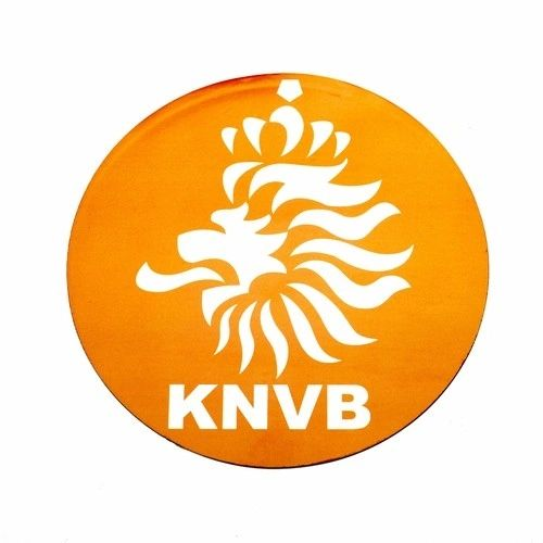NETHERLANDS KNVB LOGO FIFA SOCCER WORLD CUP CAR MAGNET .. HIGH QUALITY .. NEW AND IN A PACKAGE