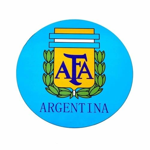 ARGENTINA AFA LOGO FIFA SOCCER WORLD CUP CAR MAGNET .. HIGH QUALITY .. NEW AND IN A PACKAGE