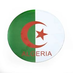 ALGERIA COUNTRY FLAG FIFA SOCCER WORLD CUP CAR MAGNET .. HIGH QUALITY .. NEW AND IN A PACKAGE