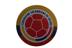 COLOMBIA FEDERACION COLOMBIANA DE FUTBOL FIFA SOCCER WORLD CUP CAR MAGNET .. HIGH QUALITY .. NEW AND IN A PACKAGE