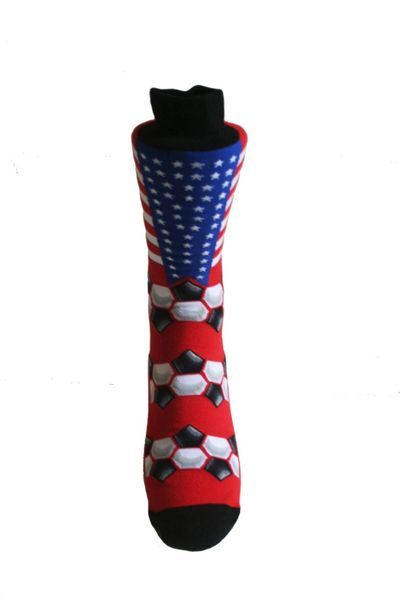 USA COUNTRY FLAG SOCKS , FIFA WORLD CUP .. HIGH QUALITY .. NEW AND IN A PACKAGE