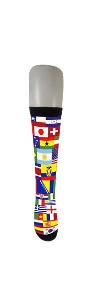 WORLD COUNTRY FLAGS SOCKS .. ADULT SIZE .. HIGH QUALITY .. NEW AND IN A PACKAGE