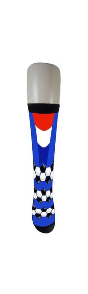 FRANCE COUNTRY FLAG SOCKS , FIFA WORLD CUP .. ADULT SIZE .. HIGH QUALITY ..NEW AND IN A PACKAGE