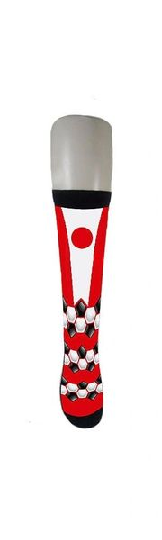 JAPAN COUNTRY FLAG SOCKS , FIFA WORLD CUP .. ADULT SIZE .. HIGH QUALITY .. NEW AND IN A PACKAGE