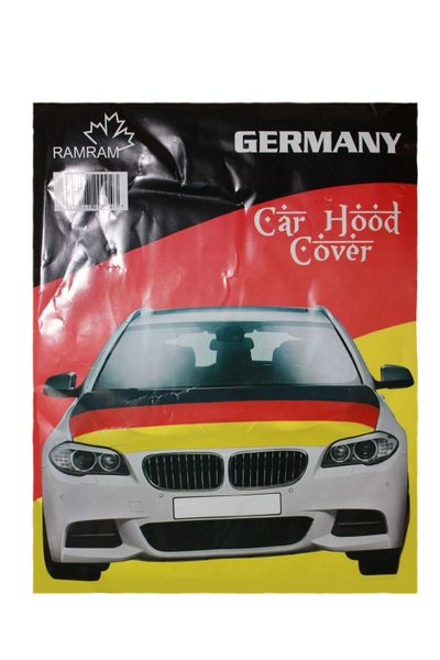 GERMANY COUNTRY FLAG FIFA WORLD CUP CAR HOOD COVER .. HIGH QUALITY .. NEW AND IN A PACKAGE