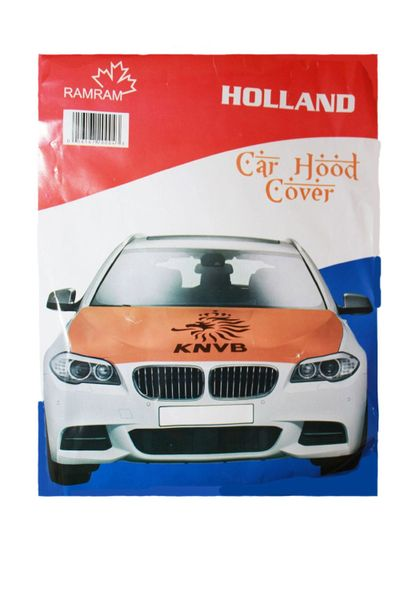 HOLLAND COUNTRY FLAG FIFA WORLD CUP CAR HOOD COVER .. HIGH QUALITY .. NEW AND IN A PACKAGE