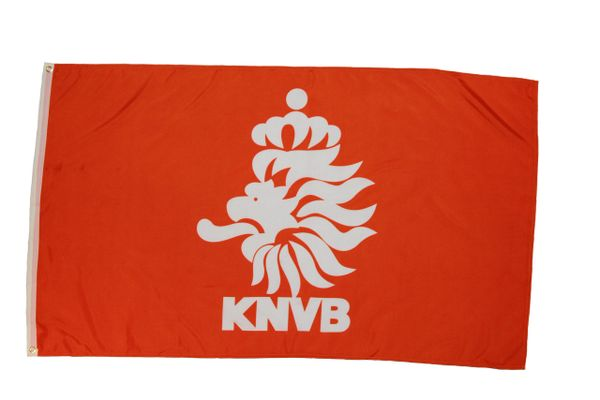 NETHERLANDS KNVB LOGO 3' X 5' FEET FIFA SOCCER WORLD CUP FLAG BANNER .. NEW AND IN A PACKAGE