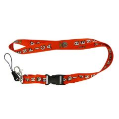 """BENFICA LOGO SOCCER LANYARD KEYCHAIN PASSHOLDER NECKSTRAP .. CLASP AT THE END .. 24"""" INCHES LONG .. HIGH QUALITY .. NEW AND IN A PACKAGE"""