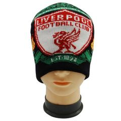 LIVERPOOL WITH LOGO SOCCER TOQUE HAT .. NEW