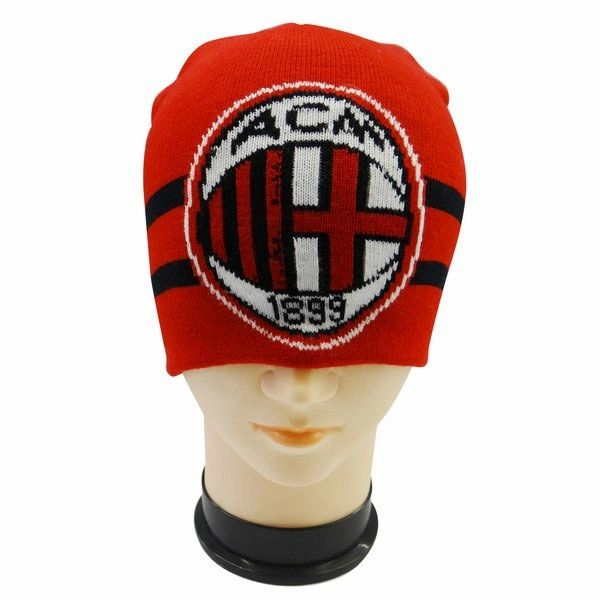 A.C. MILAN WITH LOGO SOCCER TOQUE HAT .. NEW