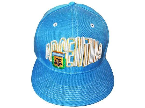 ARGENTINA BLUE SNAPBACK AFA LOGO FIFA SOCCER WORLD CUP HIP HOP HAT CAP .. NEW