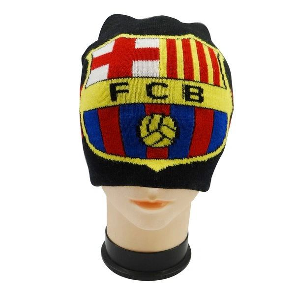 BARCELONA FCB LOGO SOCCER TOQUE HAT .. NEW