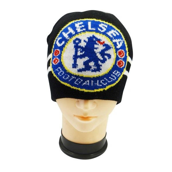 CHELSEA WITH LOGO SOCCER TOQUE HAT .. NEW