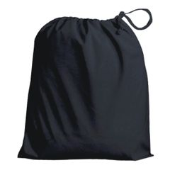 Drawstring Bags in Polycotton 6cm x 9cm Black, matching fabric drawstring closure, 46 colours plus 9 sizes, FREE UK POSTAGE on orders over £5.00