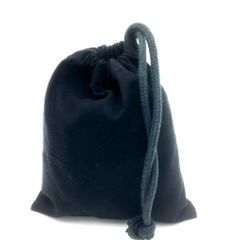 Black Drawstring Bags, 14cm x 16cm, ideal Party/Gift bags. FREE UK POST orders over £3.50
