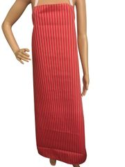 Red/White Stripe, One Size Fits All, P/U Coated, FREE UK POSTAGE