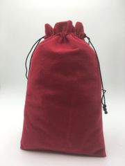 Velvet (cotton) Wine/Burgundy Drawstring Bags 25cm x 35cm, Choice of 4 sizes and 8 colours, suitable as Favor Bags, Gift Bags, Party Bags, Jewelry and many other uses. FREE UK POSTAGE