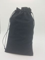Velvet (cotton) Navy Blue Drawstring Bags 15cm x 24cm, Choice of 4 sizes and 8 colours, suitable as Favor Bags, Gift Bags, Party Bags, Jewelry and many other uses. FREE UK POSTAGE