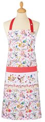 Cooksmart 'Parisiene' Cotton Apron with pocket, £5.49 each FREE UK POSTAGE, Discontinued Line