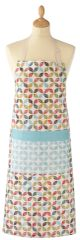 Cooksmart 'Retro' Cotton Apron with pocket, £5.49 each FREE UK POSTAGE, Discontinued Line