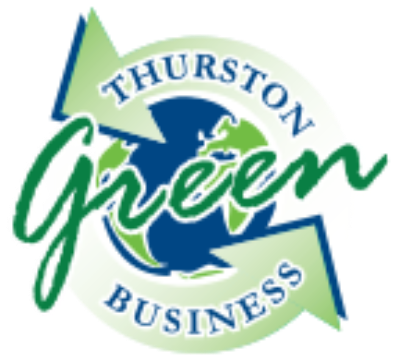 Olympia Computer proudly displays the Thurston Green Business logo.