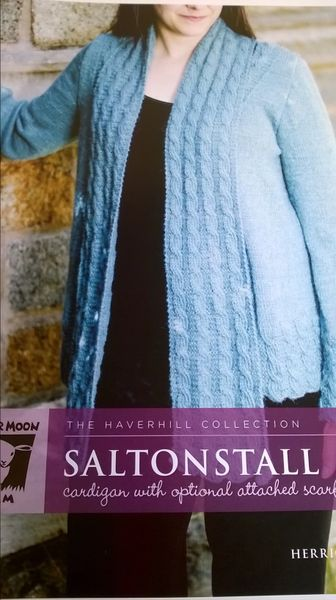 Saltonstall Cardigan with Optional Attached Scarf