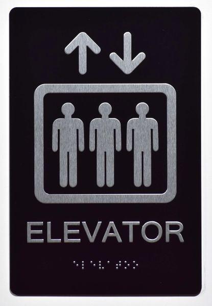 Elevator Ada Sign The Sensation Line Dob Signs Nyc