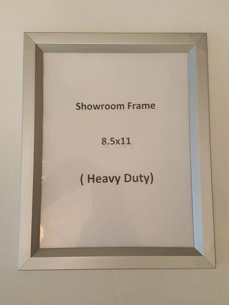 Showroom Frame 85 X 11 Dob Signs Nyc Your Official Store For