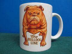 AVERY TRACTOR'S BULL DOG LOGO (TAN) COFFEE MUG