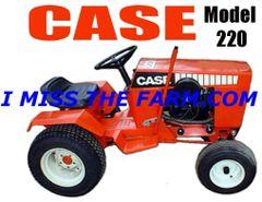 CASE 220 KEYCHAIN