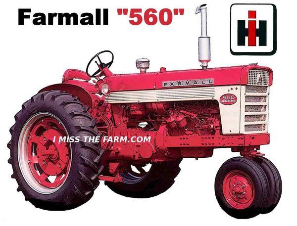 FARMALL 560 TRAVEL MUG