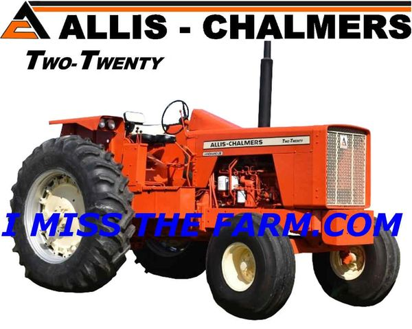 ALLIS CHALMERS 220 (IMAGE #2) TEE SHIRT