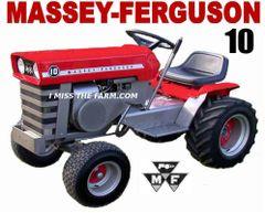 MASSEY FERGUSON 10 HOODED SWEATSHIRT