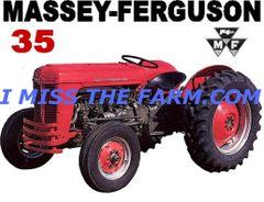 MASSEY FERGUSON 35 SWEATSHIRT