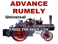 ADVANCE RUMELY HOODED SWEATSHIRT