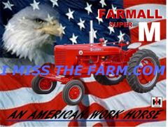 "FARMALL SUPER M ""AN AMERICAN WORKHORSE"" SWEATSHIRT"