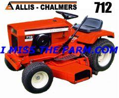 ALLIS CHALMERS 712 HYDRO TEE SHIRT