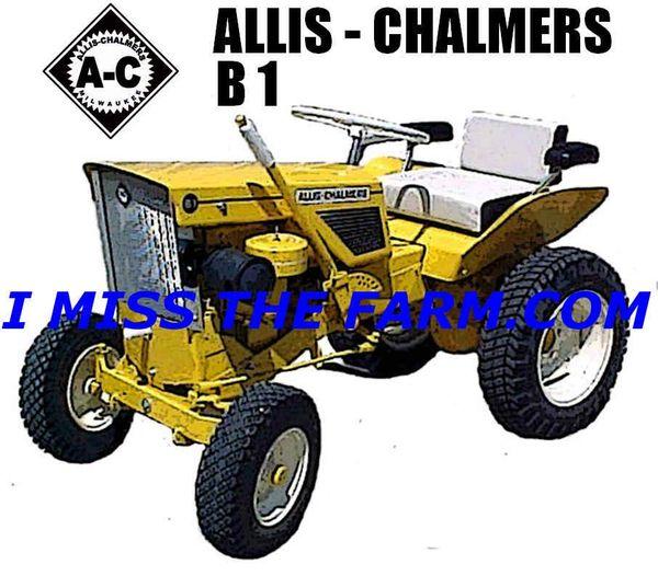 ALLIS CHALMERS B1 TEE SHIRT